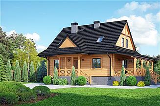 Projekt domu Zawoja dw 39