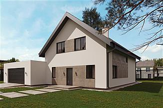 Projekt domu uA63