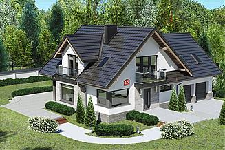 Projekt domu Dom przy Cyprysowej 15 K5