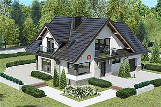 Projekt domu Dom przy Cyprysowej 14 K