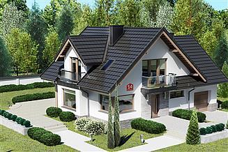 Projekt domu Dom przy Cyprysowej 14 K2