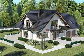 Projekt domu Dom przy Cyprysowej 15 K6