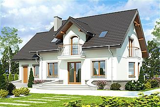 Projekt domu Dom Dla Ciebie 3 z garażem 1-st. [A2]