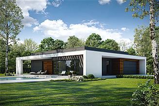 Projekt domu Otwarty D42
