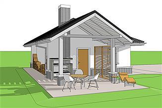 Projekt garażu Garaż G25 w. III