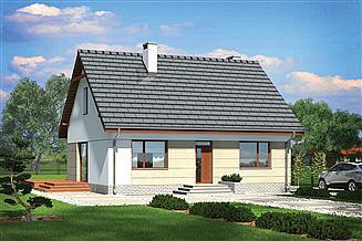 Projekt domu Murator M236a Niezawodny - wariant I