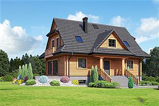 Projekt domu Bukowina 39 dw