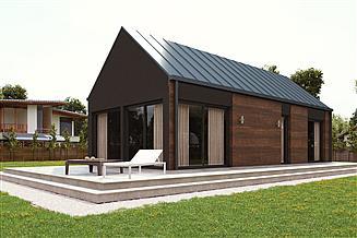 Projekt domu uA67v1
