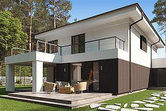 Projekt domu uA68