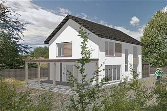 Projekt domu ekoTypowy 39