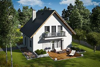 Projekt domu Daga II