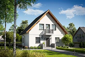 Projekt domu Daga