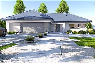 Projekt domu DomPasja 55