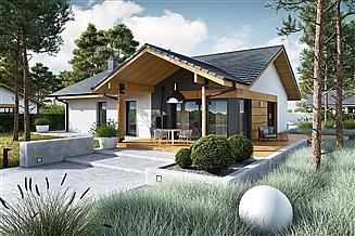Projekt domu Mini 4 w. II