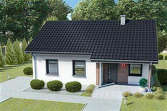 Projekt domu Dom przy Bukowej 11