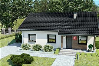 Projekt domu Dom przy Bukowej 14