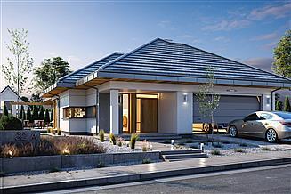 Projekt domu Wąski