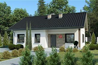 Projekt domu Dom przy Bukowej 15