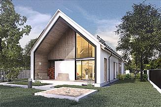 Projekt domu Z wnęką 04A