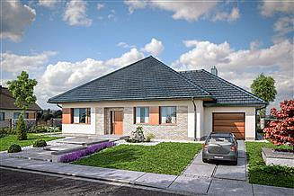 Projekt domu Domena 121 A
