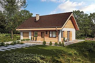 Projekt domu Murator C333y Miarodajny - wariant XX