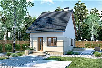 Projekt domu Murator M225d Światła miasta - wariant IV