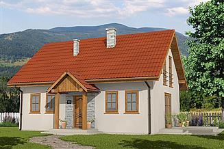 Projekt domu Domek Lipowy (020 ET)