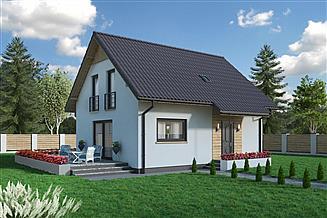 Projekt domu Domek Nieduży Mini (010 ET MINI)