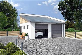 Projekt budynku gospodarczego G330J budynek gospodarczy