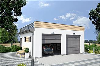 Projekt budynku gospodarczego G330K budynek gospodarczy