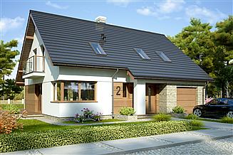 Projekt domu Marina