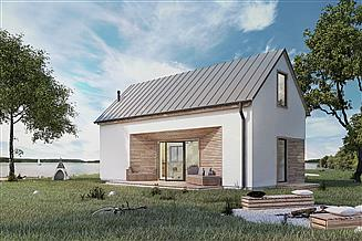 Projekt domu letniskowego Pilawa 03