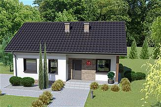 Projekt domu Dom przy Bukowej 18