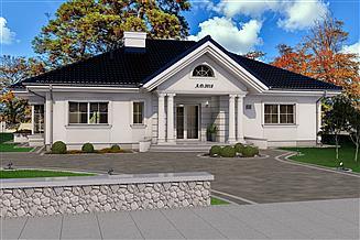 Projekt domu Santoryn