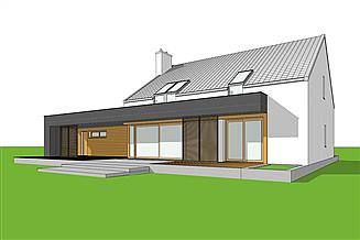 Projekt domu EX 18 G2 soft