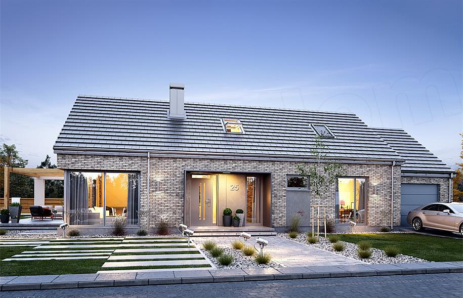 4b81b1ac243e4 Projekt domu Wymarzony 9 118,51 m2 - koszt budowy 209 tys. zł - EXTRADOM