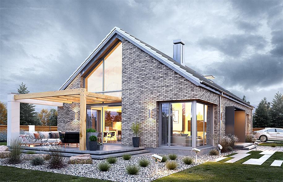 90615a22f90d7 Projekt domu Wymarzony 9 118,51 m2 - koszt budowy 209 tys. zł - EXTRADOM