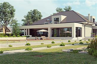 Projekt domu uA71