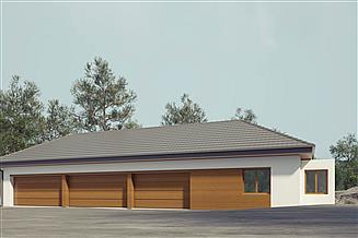 Projekt budynku gospodarczego uAG7