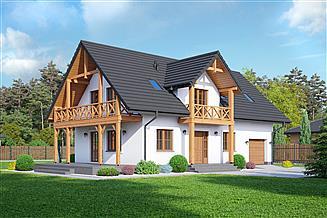 Projekt domu Milicz 53 dws