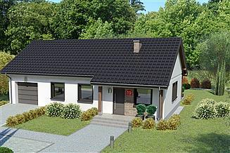 Projekt domu Dom przy Bukowej 19