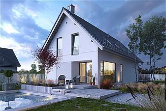 Projekt domu Miły 1A