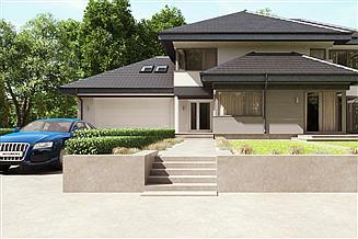 Projekt domu uA24v2