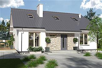 Projekt domu Magda Lux A