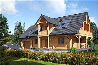 Projekt domu Milicz dw 13