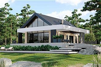 Projekt domu letniskowego HomeKoncept-66 A DL