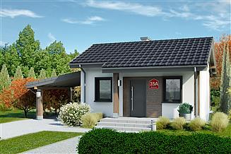 Projekt domu Dom przy Bukowej 35A