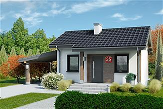 Projekt domu Dom przy Bukowej 35