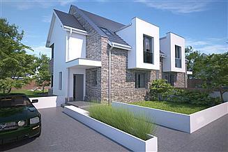 Projekt domu Zurych III LMBL42