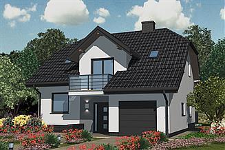 Projekt domu APS 098+P
